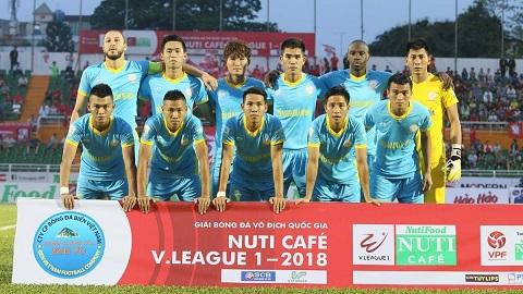 Đội hình Khánh Hòa hứa hẹn sẽ làm nên kỳ tích tại V League 2018