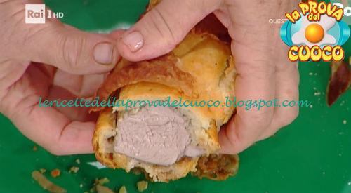 Filetto di maiale in crosta di guanciale ricetta Moroni da Prova del Cuoco