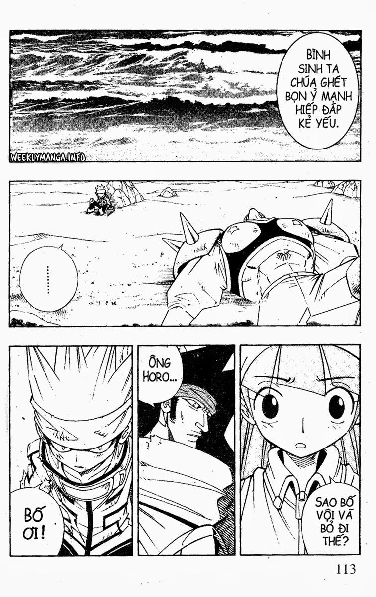 Shaman King [Vua pháp thuật] chap 184 trang 2