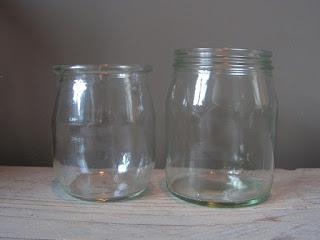 Afbeeldingsresultaat voor glazen yoghurtpotjes