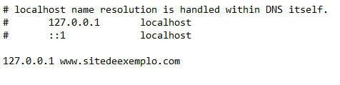 bloquear sites hosts