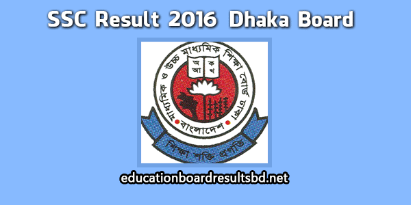 Easily get SSC Result 2016 for Dhaka Board