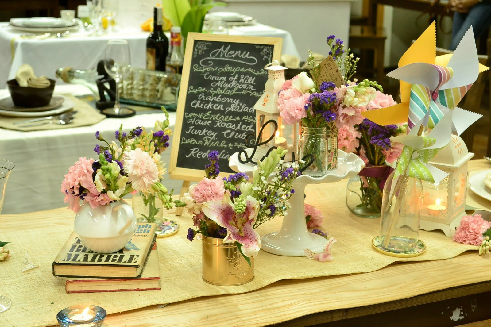 Theme Rustic Shabby Chic Casual Yet Formal