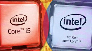 CPU Intel e AMD, i5 e i7