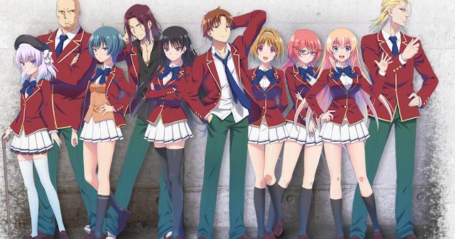 Download OST Opening Ending Anime Youkoso Jitsuryoku Shijou Shugi no Kyoushitsu e Full Version