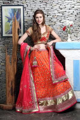 latest bridal lehenga choli designs 2017
