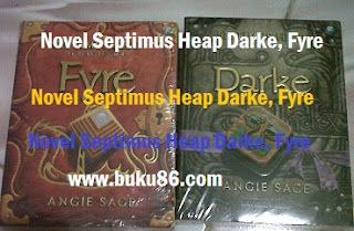Novel Septimus Heap Darke, Fyre Angie Sage