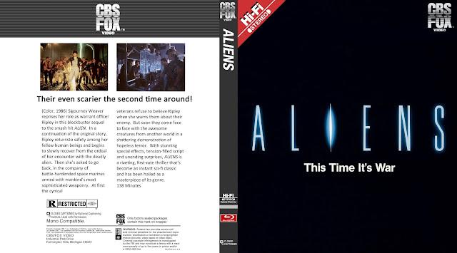 Aliens Bluray Cover