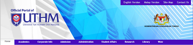 Rasmi - Jawatan Kosong (UTHM) Universiti Tun Hussein Onn Malaysia Terkini 2019