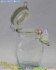 Jar Mini Segi Tutup Karet