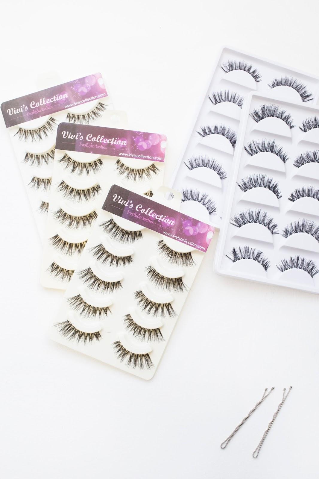 Some of my Favourite False Eyelashes + Where I Buy Them