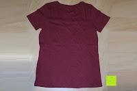 Rückseite: Lands' End - Baumwoll/Viskose-Shirt mit V-Ausschnitt