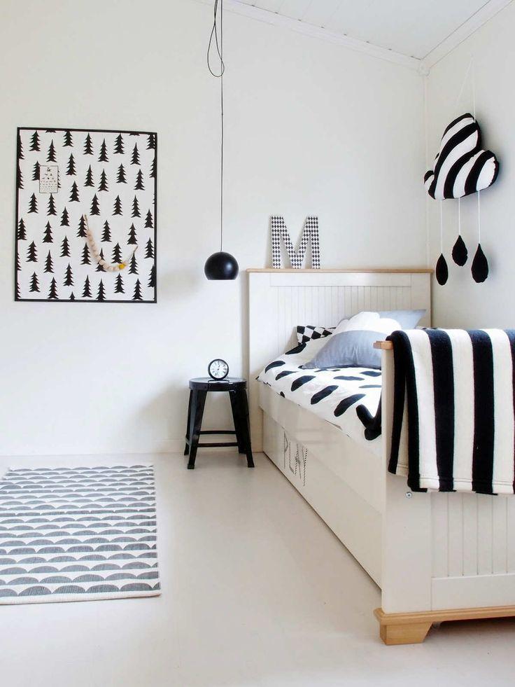 Hogar diez habitaciones infantiles de estilo n rdico - Habitaciones infantiles estilo nordico ...
