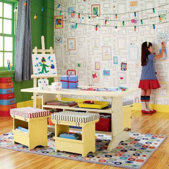 Montando uma brinquedoteca em casa