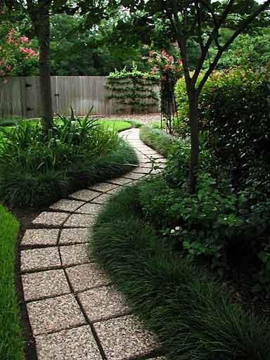 Dise o de caminos para el jard n garden path jard n y for Diseno de toldos para jardin