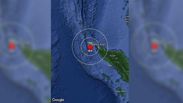 Gempa aceh 31 Desember 2017