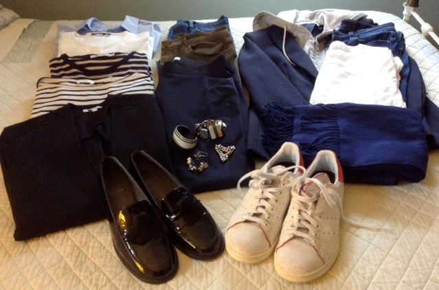 what I packed, and what I wore on the plane to New York.