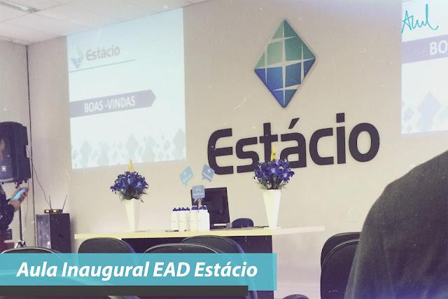 Aula Inaugural EAD Estácio
