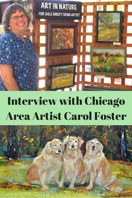 Interview with Chicago area artist Carol Foster