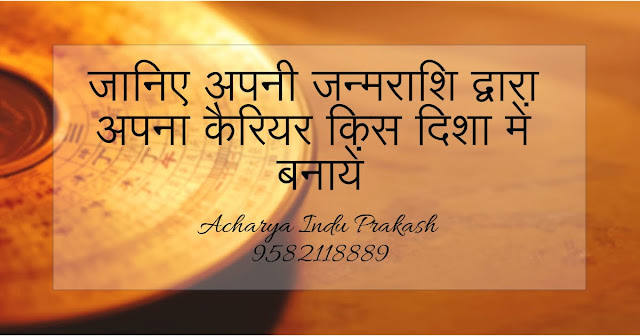 Through Astrology Career Counselling
