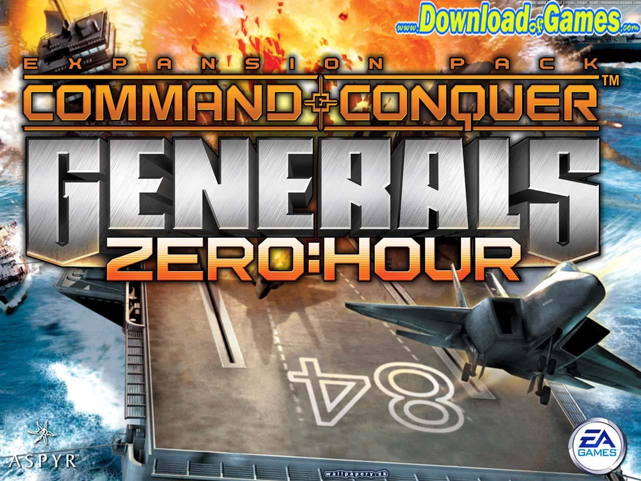 تحميل لعبة Generals Zero Hour مجانا على الكمبيوتر تحميل العاب