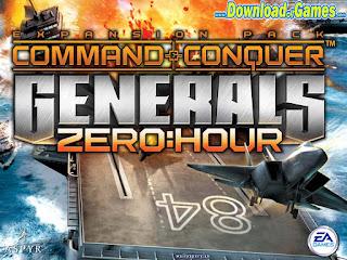 تحميل لعبة Generals Zero Hour مجانا على الكمبيوتر