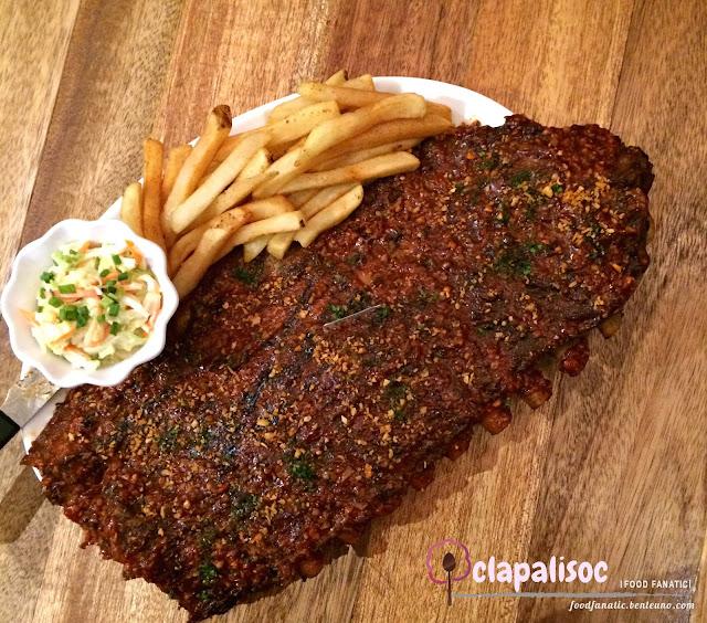 Morganfield's Manila Garlicky BBQ Spare Ribs