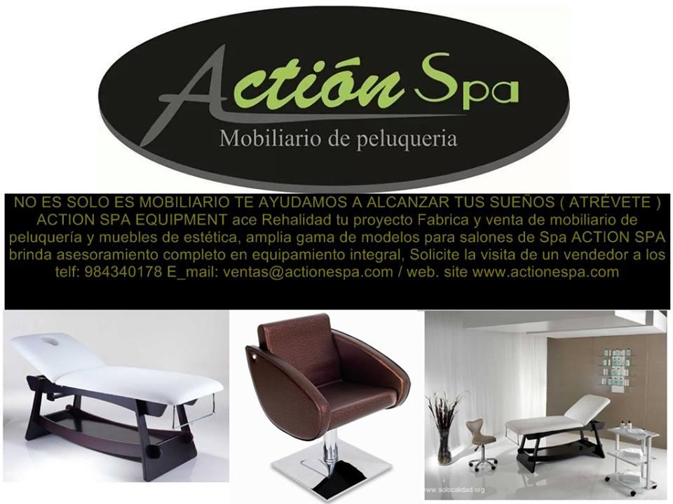 Muebles para peluqueria muebles de spa mobiliario de for Fabricantes de muebles para estetica