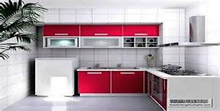 4 Trik Jitu Dapur Mungil Anda Terlihat Lega