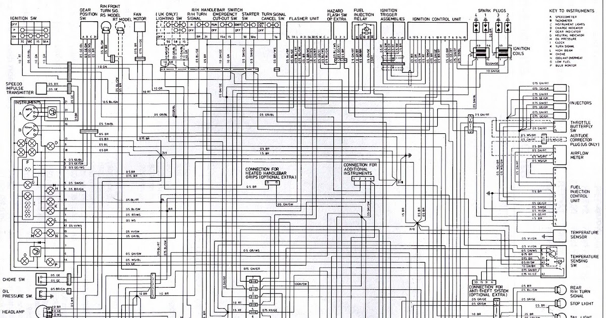 BMW KR100RSRT Wiring Diagram | All about Wiring Diagrams