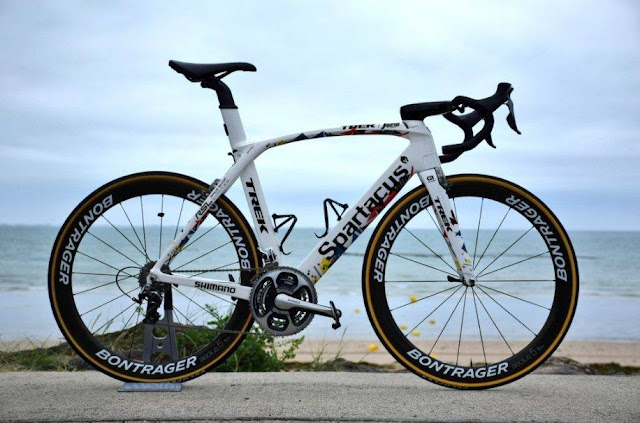 Trek Spartacus, la nueva bici de Cancellara en el Tour de Francia