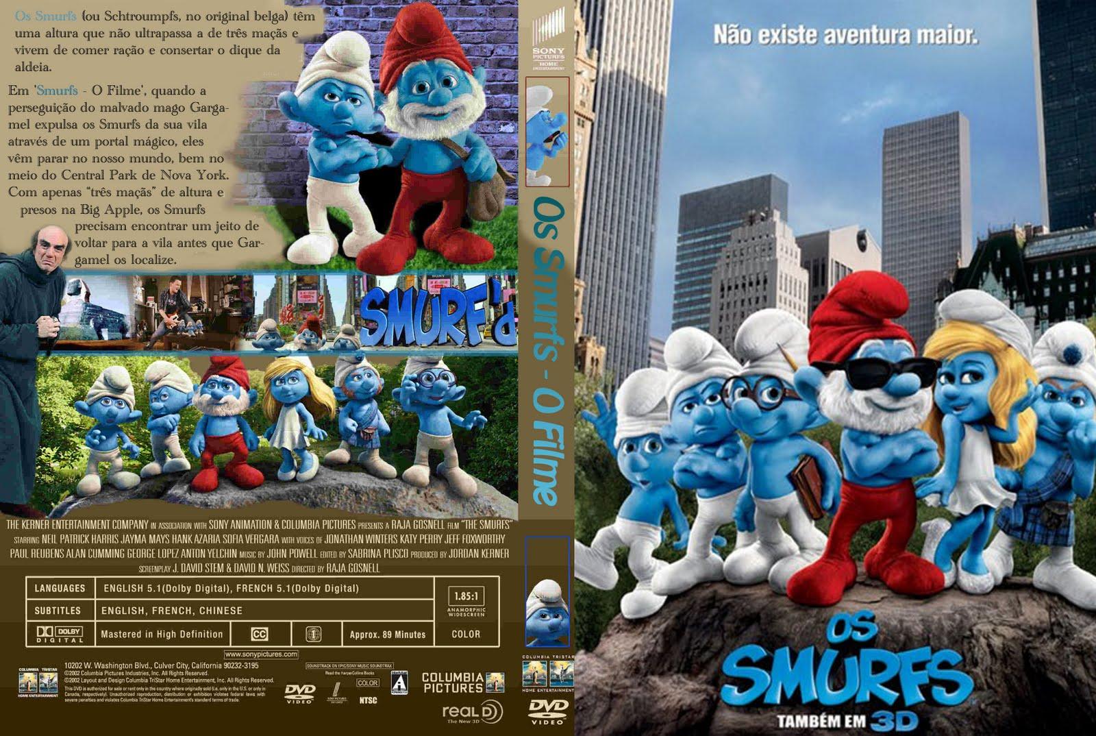 filme os smurfs 2 dublado avi