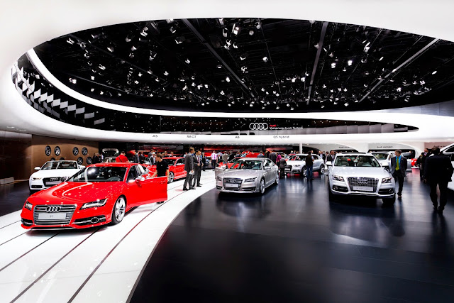 Latest 2015 Audi models: Audi A4, A5, A6, A7, Q7 and R8