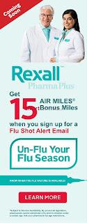 Rexall Flyer Week long savings valid October 13 - 19 , 2017