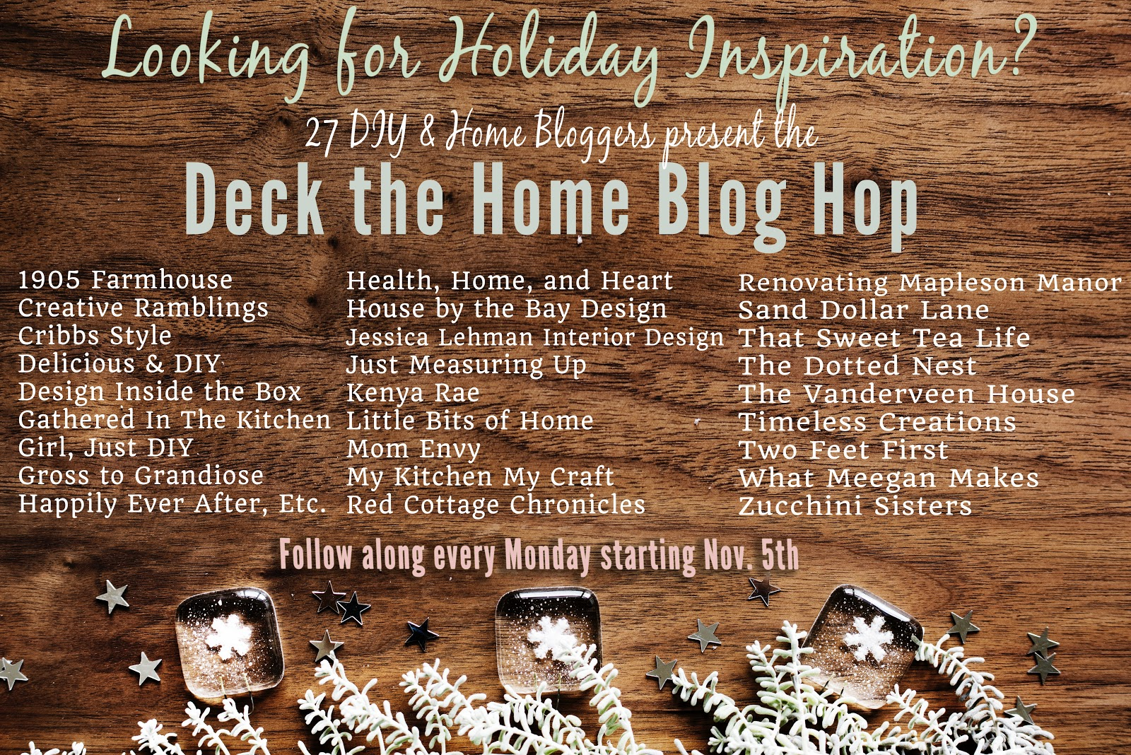 Deck The Home Blog Hop