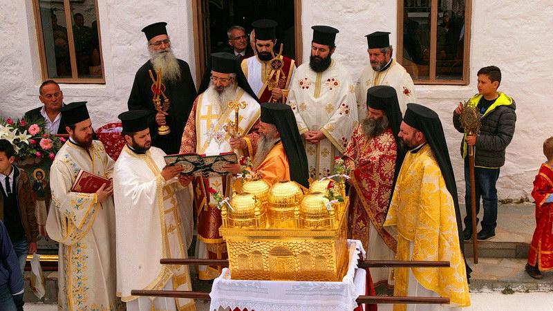 Με λαμπρότητα εορτάστηκε η μνήμη των Αγίων Πέντε Νεομαρτύρων στη Σαμοθράκη