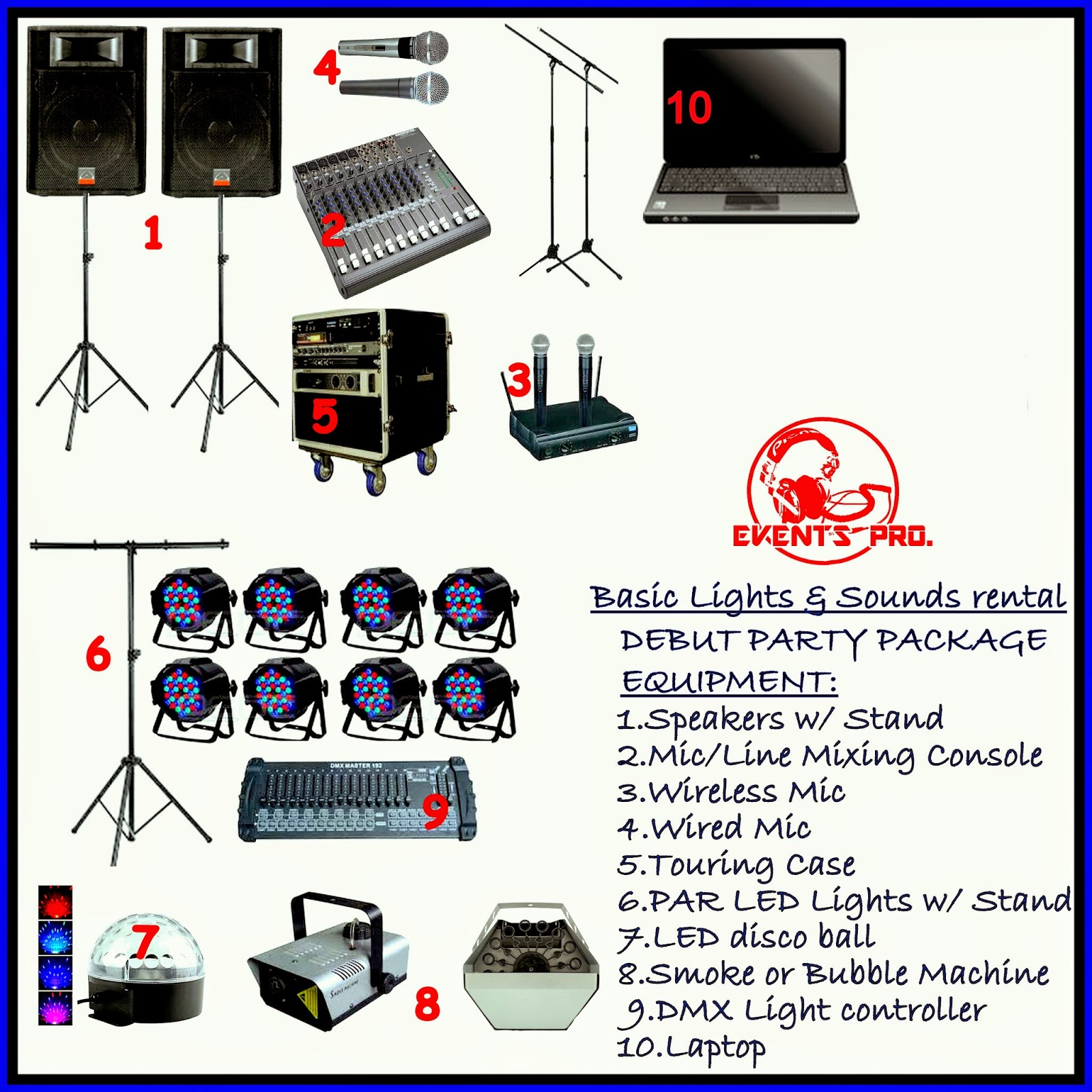 Lights and Sound System Rental Manila, offers affordable
