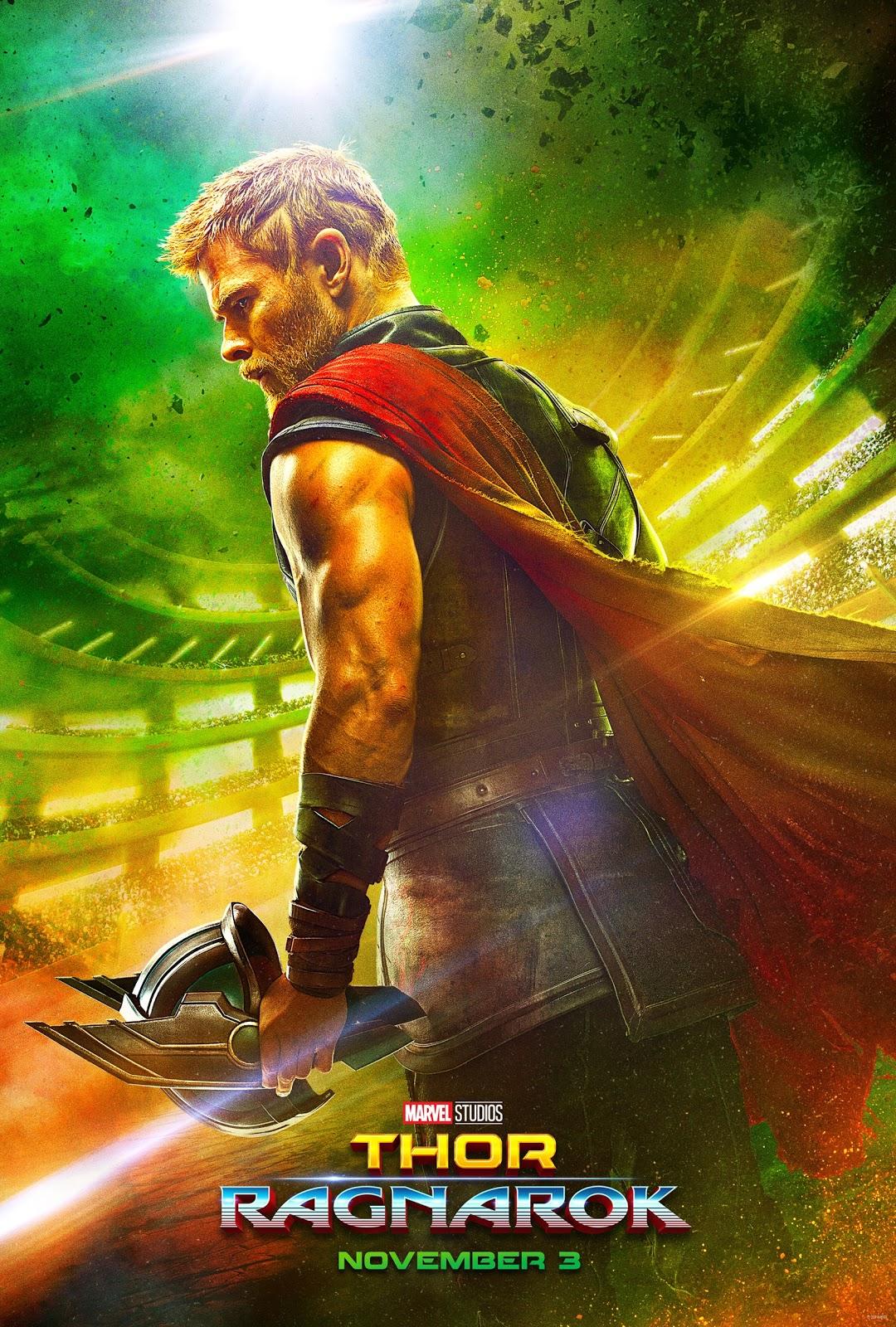 Thor Ragnarok Marvel poster