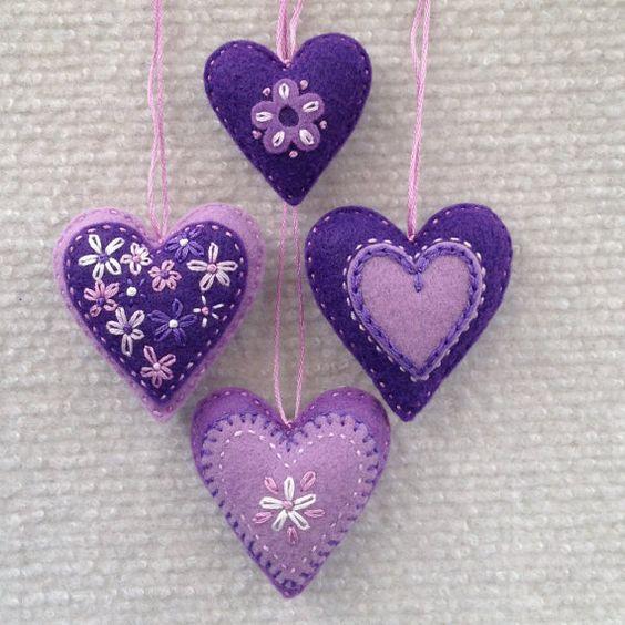 Molde de coração para imprimir - Como Fazer