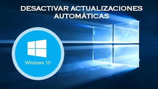 desactivar actualizaciones windows 10 siemlab