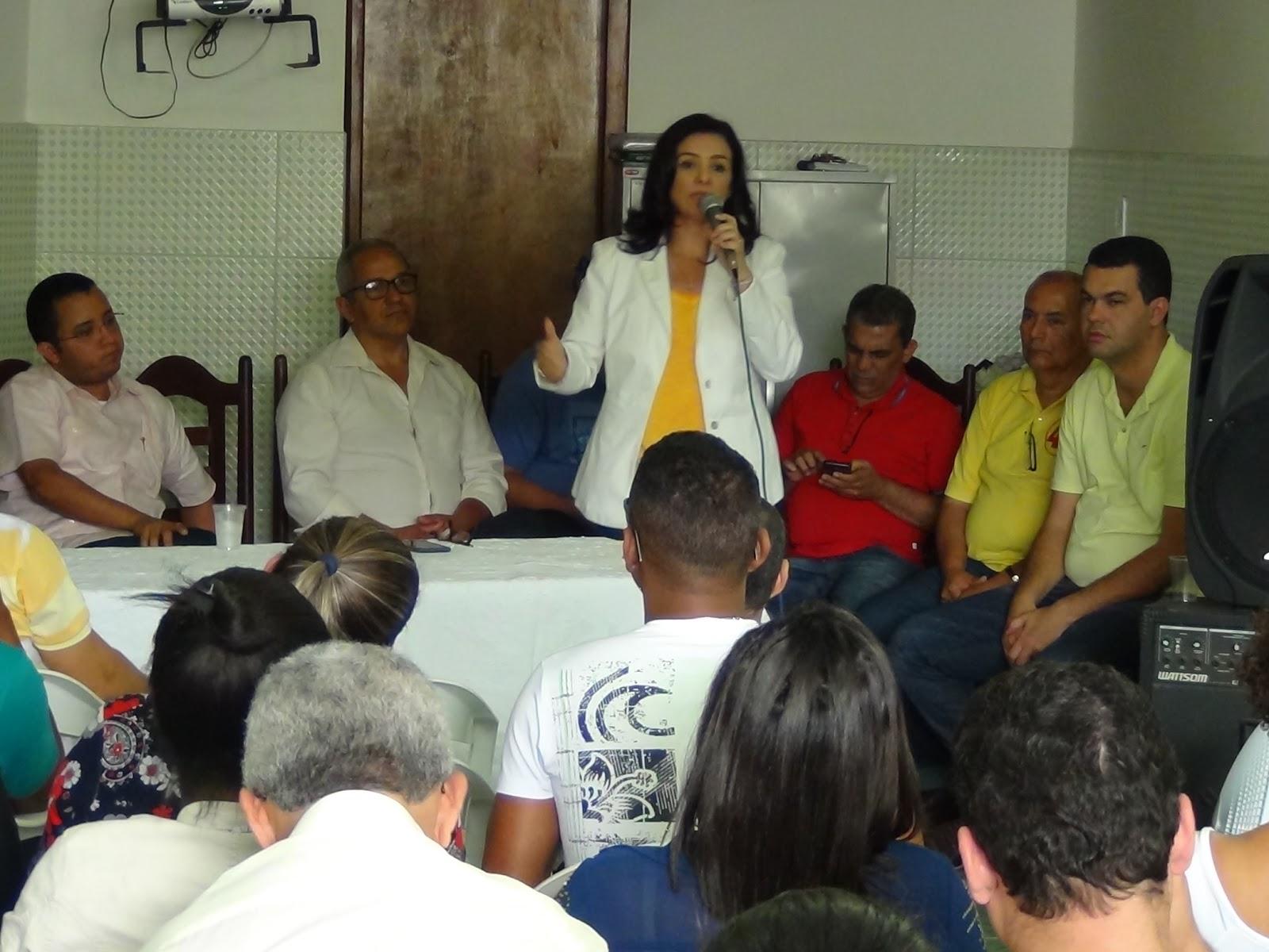 AMARGOSA: KARINA SILVA É ELEITA PRESIDENTE DO DIRETÓRIO MUNICIPAL DO PSB