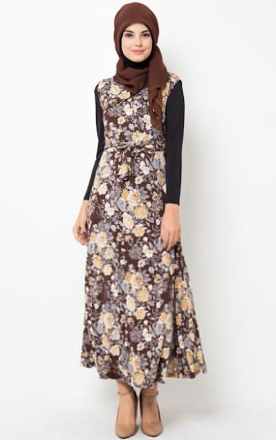 Trend Baju Batik Muslim Masa Kini 2015