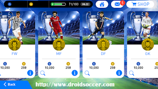Download PES Mobile 2018 Mod UCL v3.8 by Minimumpatch Apk + Obb