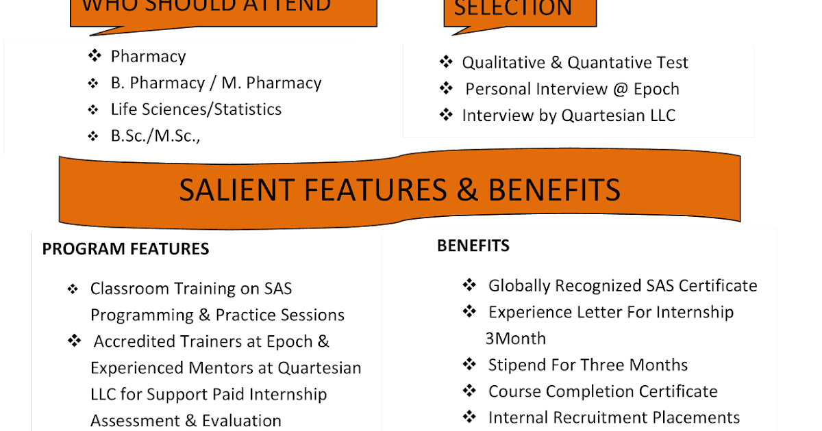 Learn SAS from the Leader...: Joint INITIATIVE (Clinical SAS ...