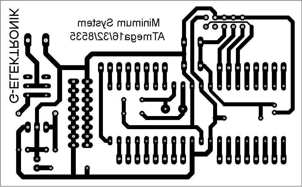 Teknik Elektro: Rangkaian Minimum System Mikrokontroller