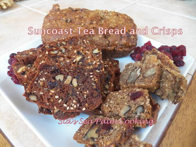 Suncoast Tea Bread and Crisps