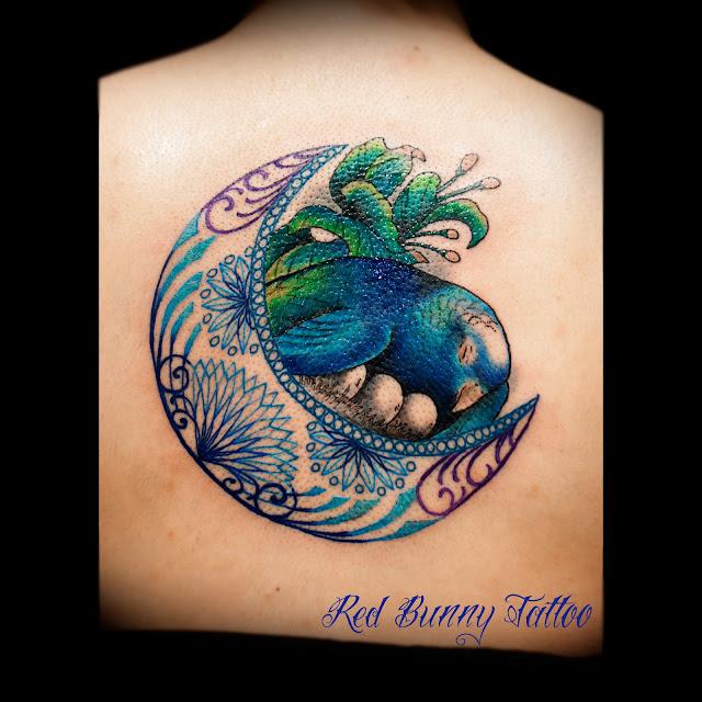 parakeet & eggs tattooインコ タトゥー 卵