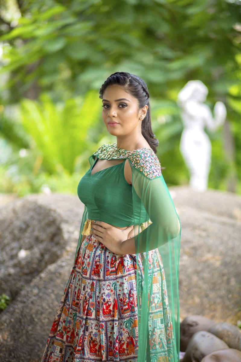 Actress Sreemukhi Latest HD Images