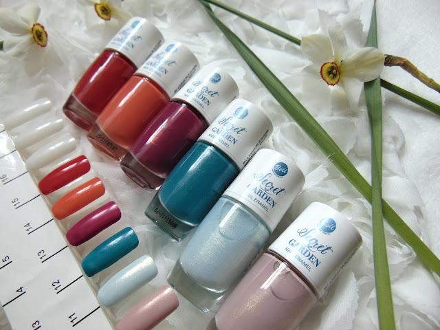 Bell Secret Garden - Limitowana kolekcja lakierów do paznokci