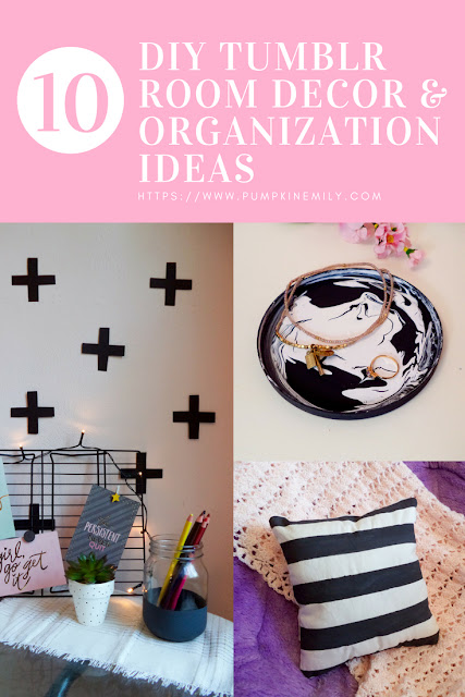10 Diy Tumblr Room Decor Organization Ideas Pumpkin Emily